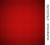 red abstract technology...