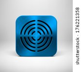 blue abstract technology app...