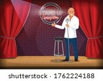 Stand Up Comedian Performing...