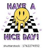 happy face vector art... | Shutterstock .eps vector #1762274552