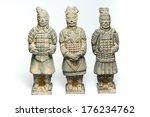 Three Terra Cotta Warriors By...