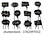 wedding laser cut black vector...   Shutterstock .eps vector #1762397312