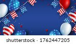 independence day usa banner... | Shutterstock .eps vector #1762447205