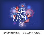 independence day usa banner... | Shutterstock .eps vector #1762447208