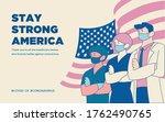 stay strong america flag...   Shutterstock .eps vector #1762490765