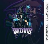 Wizard Mascot Logo Design...