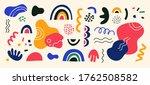set of hand drawn various... | Shutterstock .eps vector #1762508582