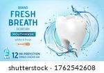 ad template for mouth wash or... | Shutterstock .eps vector #1762542608