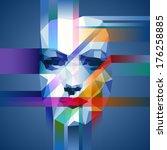 Creative Concept Of A Face ...