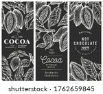 hand drawn cocoa design... | Shutterstock .eps vector #1762659845