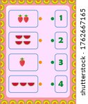 preschool and toddler math with ...   Shutterstock .eps vector #1762667165