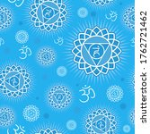 seamless repeat pattern with... | Shutterstock .eps vector #1762721462