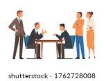 business negotiations  busines... | Shutterstock .eps vector #1762728008