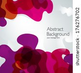 vector abstract background | Shutterstock .eps vector #176276702