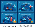 party time flat landing pages...