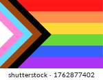 colorful new social justice ...   Shutterstock . vector #1762877402