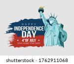 4th of july   happy... | Shutterstock .eps vector #1762911068