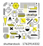 set of abstract trendy...   Shutterstock .eps vector #1762914332