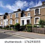 London Street Of 19th Century...