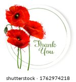 natural getting card with red... | Shutterstock .eps vector #1762974218