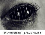 Conceptual Monochrome Photo Of...