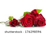 Stock photo red rose 176298596
