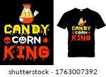candy corn king halloween t...   Shutterstock .eps vector #1763007392