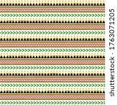 kwanzaa seamless pattern  ... | Shutterstock . vector #1763071205
