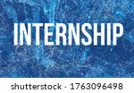 internship theme with abstract... | Shutterstock . vector #1763096498