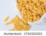 Raw Dry Uncooked Elbow Macaron...