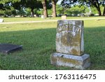 A Very Old Mother Tombstone