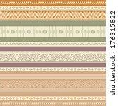 ethnic ornamental colorful...   Shutterstock .eps vector #176315822
