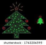 glare web mesh christmas fir... | Shutterstock .eps vector #1763206595