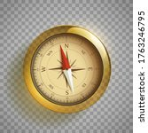 modern compass icon. template... | Shutterstock .eps vector #1763246795