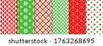Xmas Seamless Pattern. Vector....