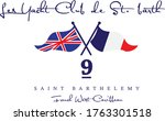 sailing team embroidery crest... | Shutterstock .eps vector #1763301518