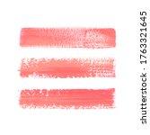 lip pencil smudge strokes set... | Shutterstock .eps vector #1763321645