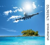 tropical vacation   Shutterstock . vector #176336732