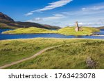 Ruins Of Ardvreck Castle At...