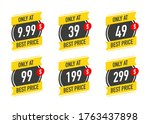 sale only at   9.99 99 49 99... | Shutterstock .eps vector #1763437898