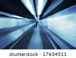 motion blurred people... | Shutterstock . vector #17634511