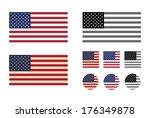 america. vector format | Shutterstock .eps vector #176349878