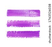 art brush painted textured...   Shutterstock .eps vector #1763526038