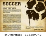 football   soccer template  ... | Shutterstock .eps vector #176359742