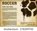 football   soccer template  ... | Shutterstock .eps vector #176359742