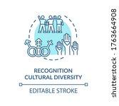 cultural diversity recognition...   Shutterstock .eps vector #1763664908