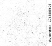 grunge black and white splats... | Shutterstock .eps vector #1763805605