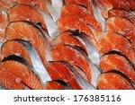 Fresh Slices Of Salmon
