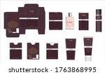 packaging design  luxury...   Shutterstock .eps vector #1763868995
