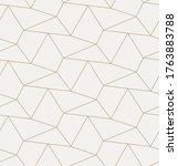 continuous monochrome graphic... | Shutterstock .eps vector #1763883788